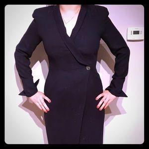 Vintage Dana Buchman purple evening dress sz 4